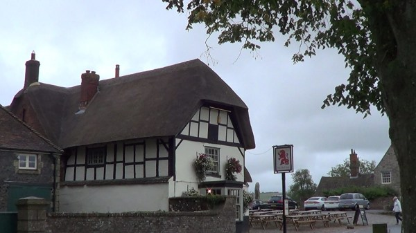 The Red Lion Inn in Avebury